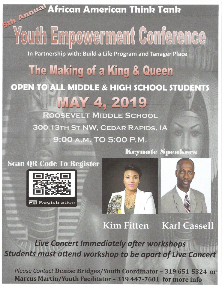 5th Annual Youth Empowerment Flyer